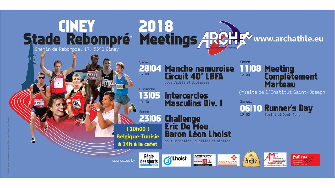 Dernier meeting Runner's Day le 6 octobre
