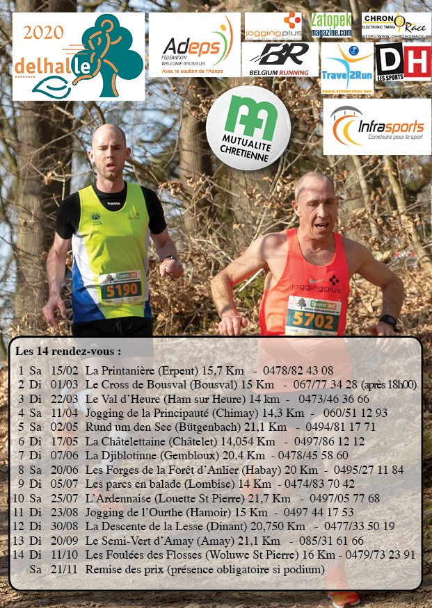 Calendrier Cross Country 2020.Arch Athletisme Running Ciney Haute Meuse